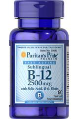 биотин в12 2500мкг с фолиевой в6 биотином