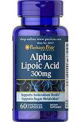 альфа липоевая кислота 300 мг Пуританс Прайд