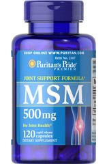 МСМ 500 мг Пуританс Прайд