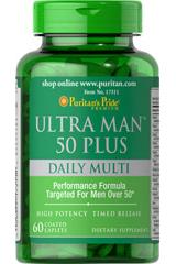 Витамины для мужчин 50+ Пуританс Прайд