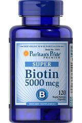 Биотин 5000 Пуританс Прайд