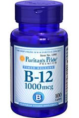 витамин в12 1000мкн Пуританс Прайд