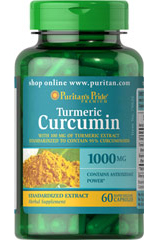 куркума куркумин 1000 мг Пуританс Прайд