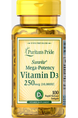 витамин D3 10000 Puritan's Pride
