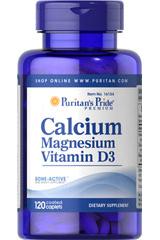 комплекс кальций, магний, витамин Д Пуританс Прайд