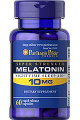 Мелатонин 10мг Пуританс Прайд